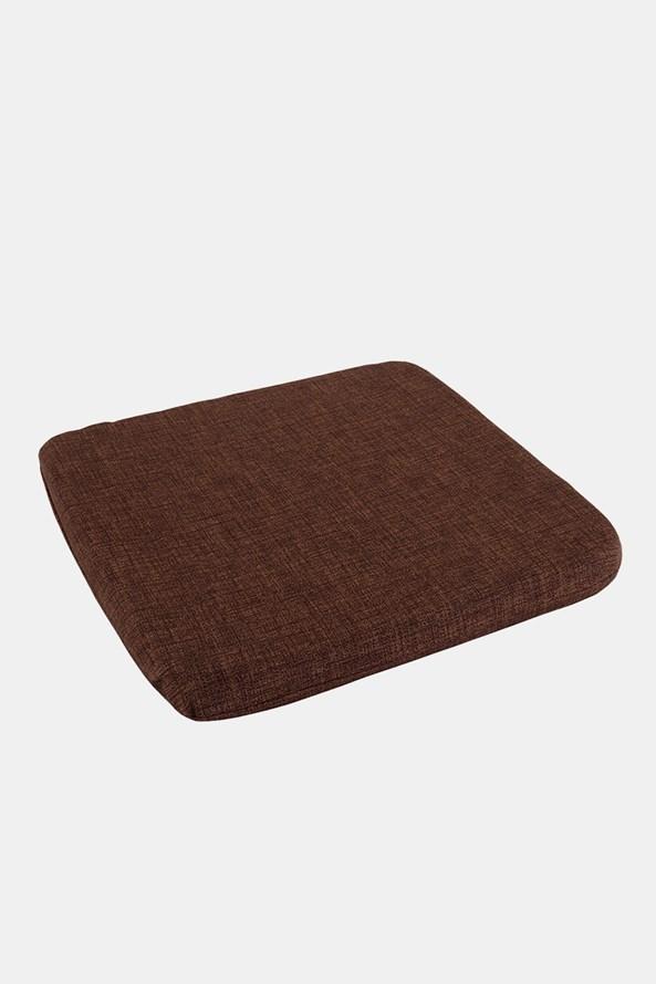 Poduszka na krzesło brązowa