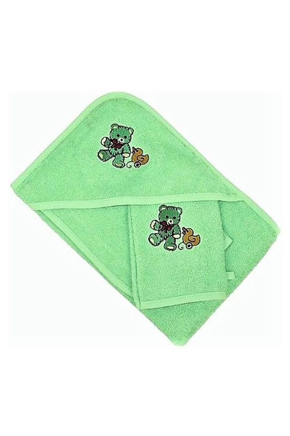 Komplet dla niemowląt zielony