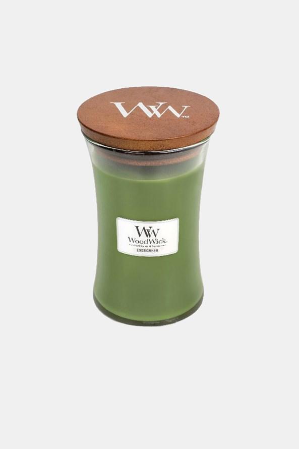 Świeczka WoodWick Evergreen duża