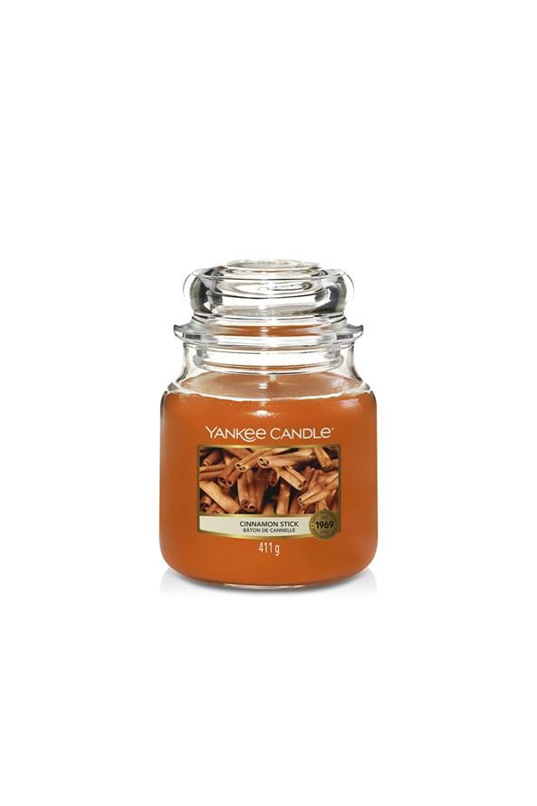 Świeca Yankee Candle Cinnamon średnia