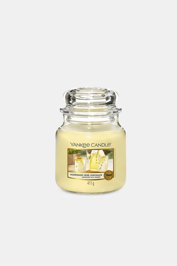 Świeczka Yankee Candle Homemade Herb Lemonade średnia