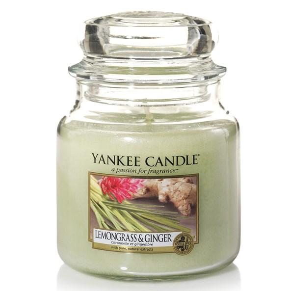 Yankee Candle świeca Lemongrass Ginger średnia