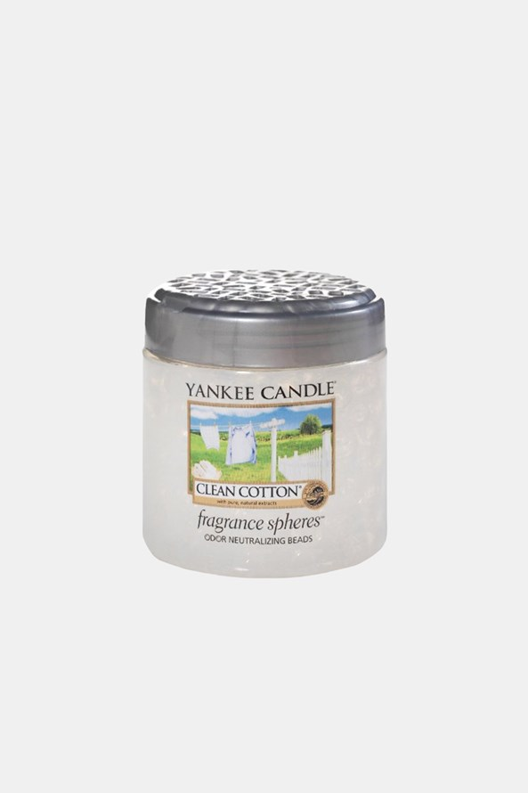 Perełki zapachowe Yankee Candle Clean Cotton