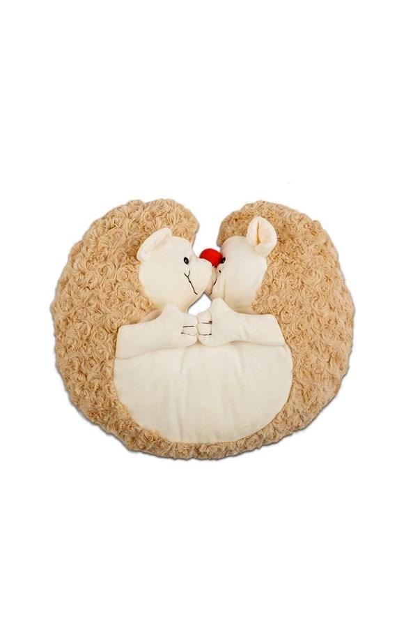 Poduszeczka i zabawka w jednym Jeżyk