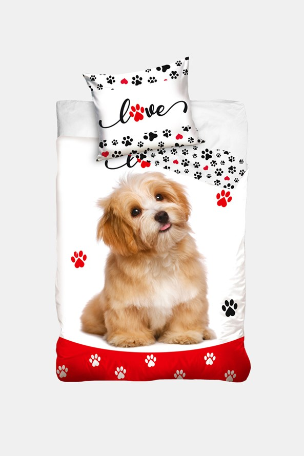 Dziecięca pościel Love Dogs