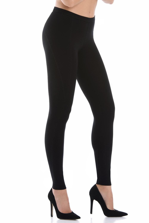 Damskie bawełniane legginsy Belicia z efektem Push-Up