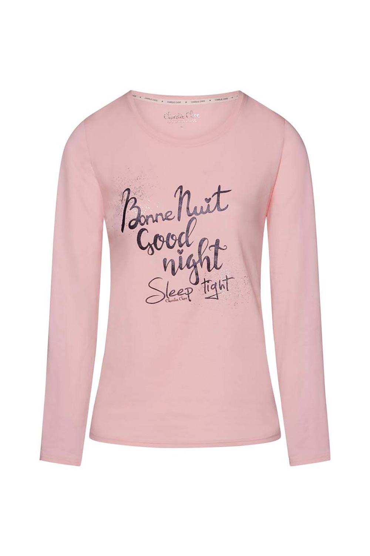 Damski T-shirt do spania Bonne Nuit