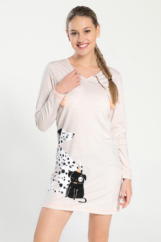 Damska koszula nocna Dalmatine