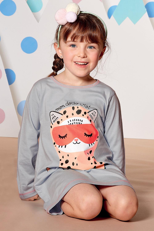 Dziewczęca koszula nocna Dodo Chat