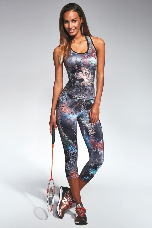 Damskie legginsy sportowe 3/4 Fusion