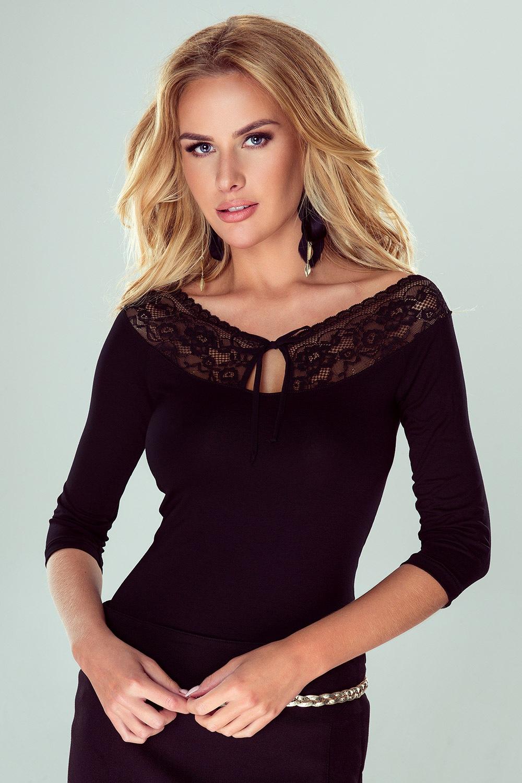 Elegancka damska koronkowa bluzka Sari