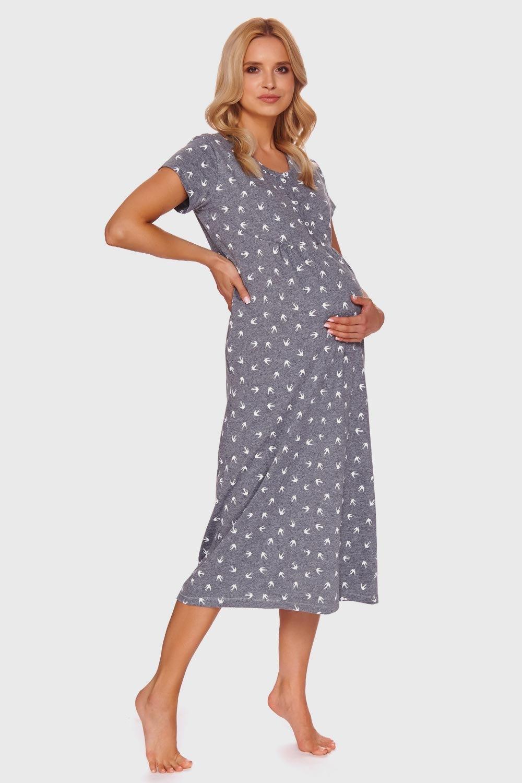 Koszulka ciążowa i do karmienia Karen Grey